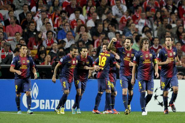 El catalán fusiló al arquero portugués después de que Messi también le d...