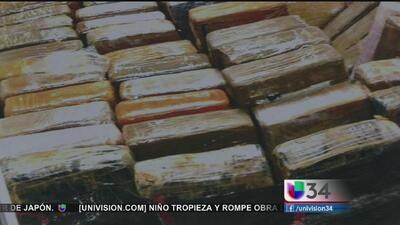 Cocaína en el Puerto de Long Beach