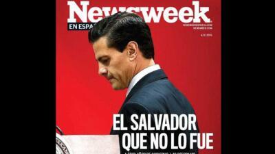 El Salvador que no Fue. Portada de Newsweek.