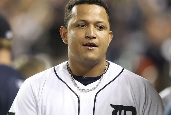 1B. Miguel Cabrera. Tigres de Detroit. El venezolano bateó para u...