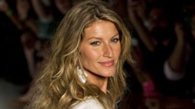 La modelo brasileña Giselle Bündchen.