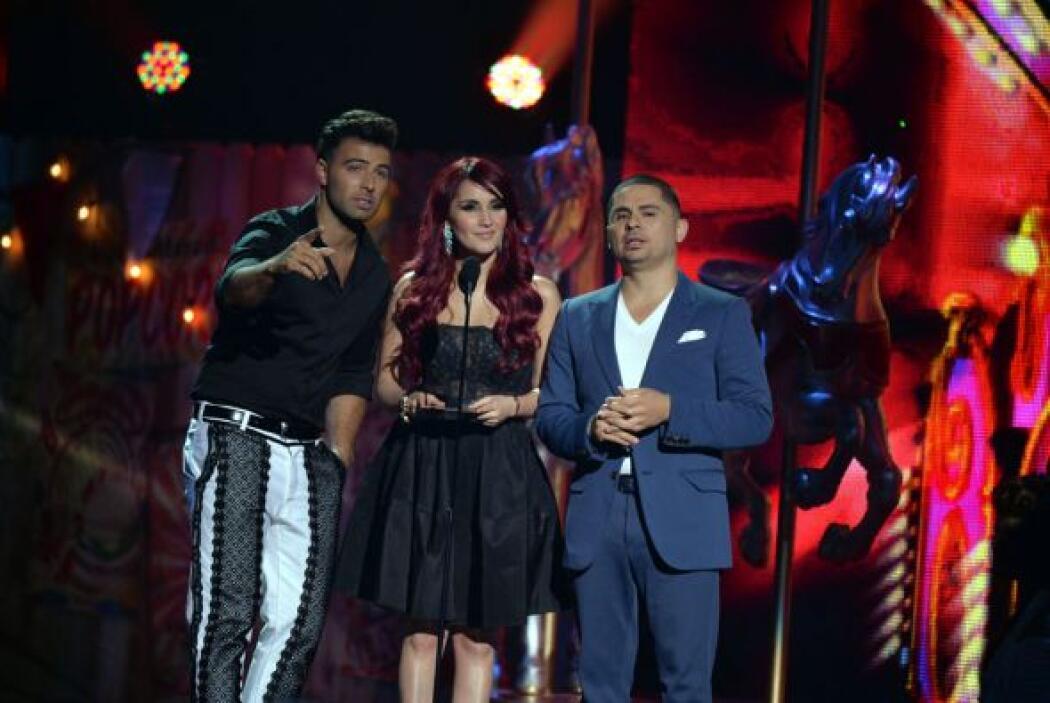 La frescura y buen humor se desbordaron en el escenario de Premios Juven...