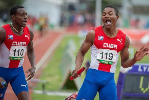 Cuba tuvo una buena jornada en el atletismo y le arrebató la punta del m...