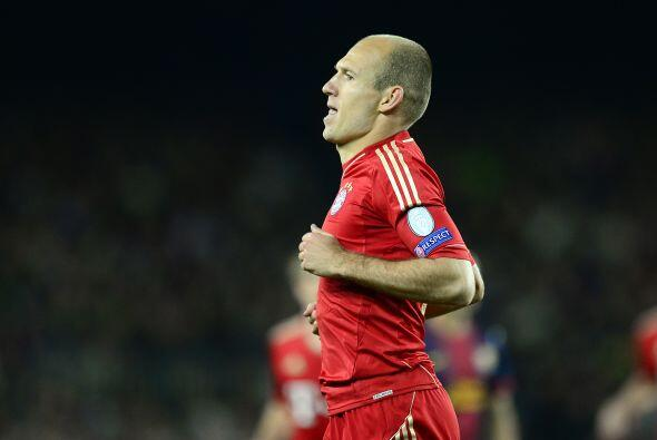 Si la eliminatoria ya estaba definida, Arjen Robben se encargó de encarr...