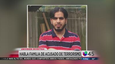 Habla familia de irakí acusado por delitos de terrorismo