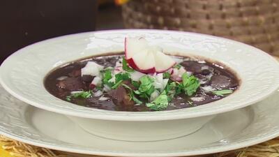 Receta de frijoles con puerco a la mexicana