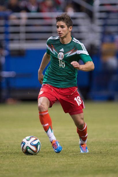 Uno de los jugadores diferentes en el Tricolor. Isaac Brizuela posee des...