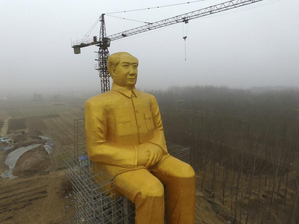 Estatua gigante de Mao