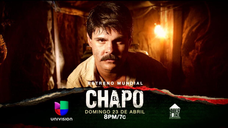 'El Chapo' la serie se estrena en Univision el 23 de abril