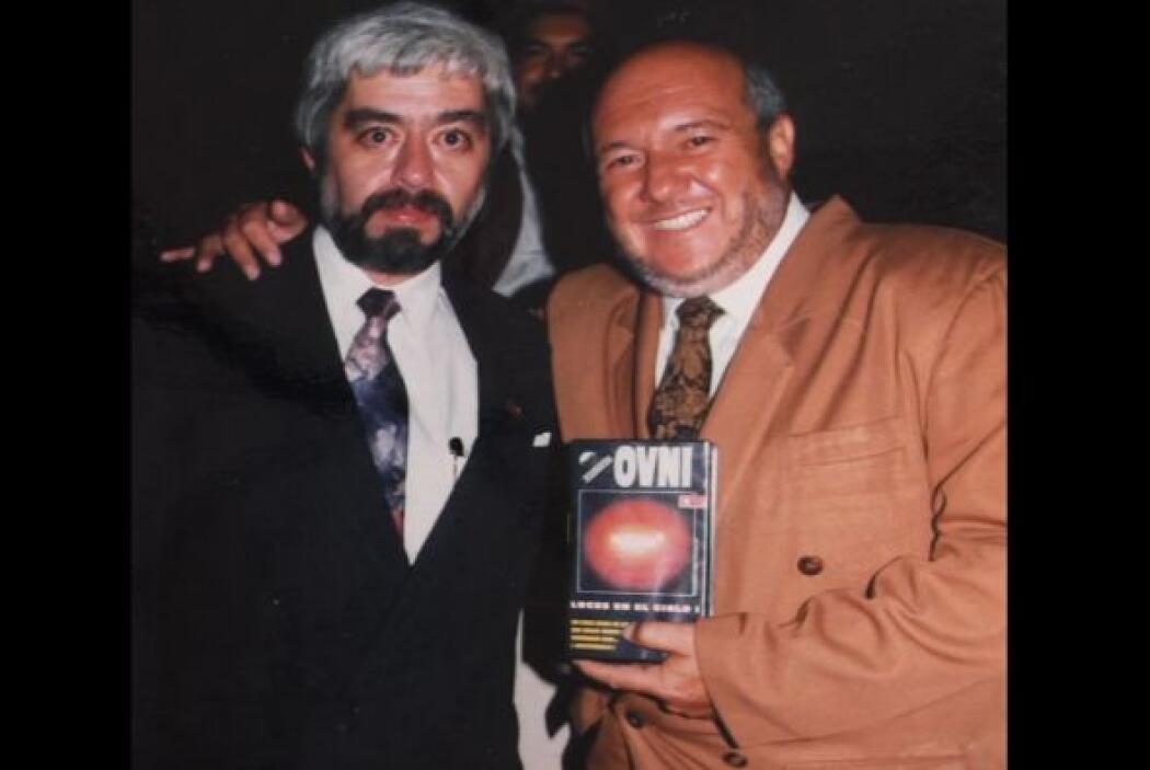 Oscar Cadena y Jaime Maussan.