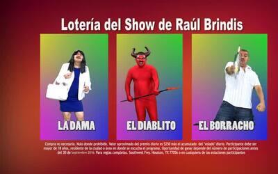 La lotería del show de Raúl Brindis