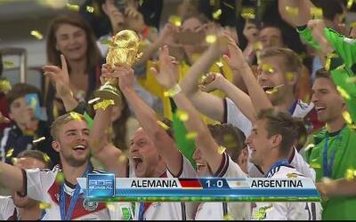 Triunfa en terreno brasileño la selección de Alemania