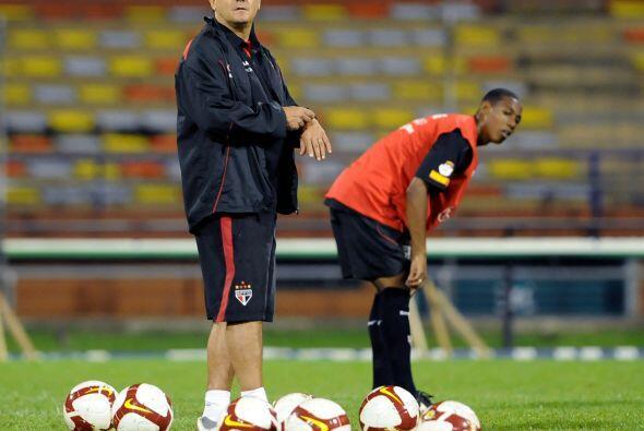 Muricy Ramalho fue el entrenador del Fluminense, logró su cuarto título...