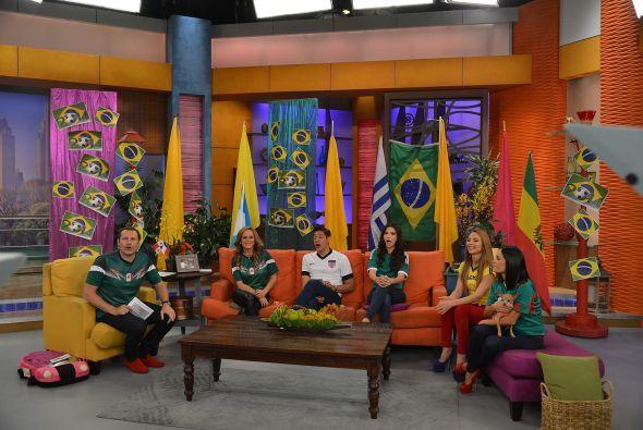 Nuestra casa lució muy colorida en esta celebración brasileña.