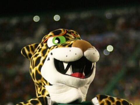 ¡Qué fiera resultó la mascota de los Jaguares!