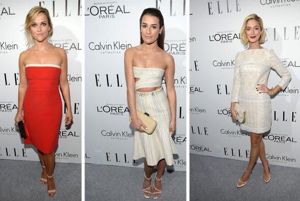 La revsta de moda Elle reunió a las mujeres más guapas de la industria p...