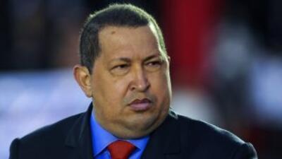 """El presidente de Venezuela, Hugo Chávez, mandó a todos a """"bajarse de la..."""