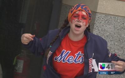 ¡Aficionados de los Mets a la espectativa!