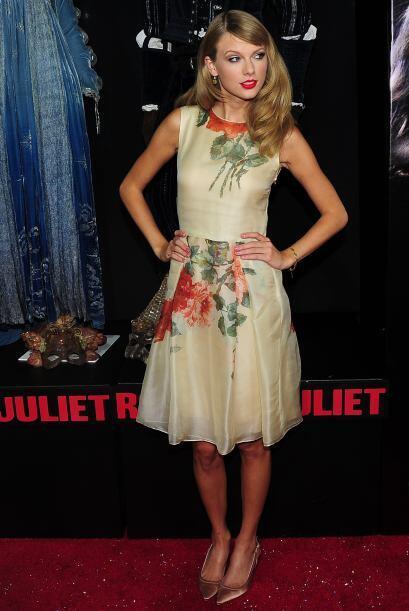 La cantante Taylor Swift siempre se ha caracterizado por su bonito rostr...