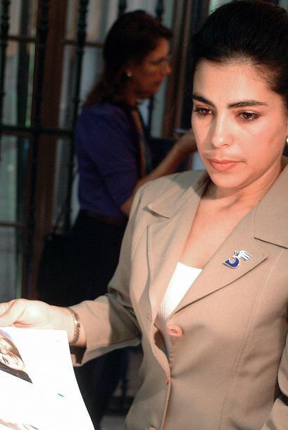 Adriana Pérez, esposa de Gerardo Hernández.