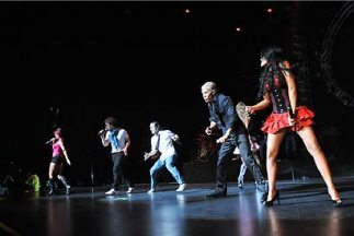 RBD interpretó esas melodías que les dieron fama a nivel mundial y el Gi...