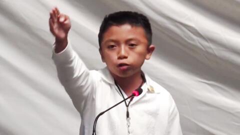 Conoce a Jacinto, el niño que dio un inspirador discurso contra la corru...