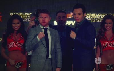 Finalizó en Los Angeles, la gira de promoción de la pelea entre 'Canelo'...