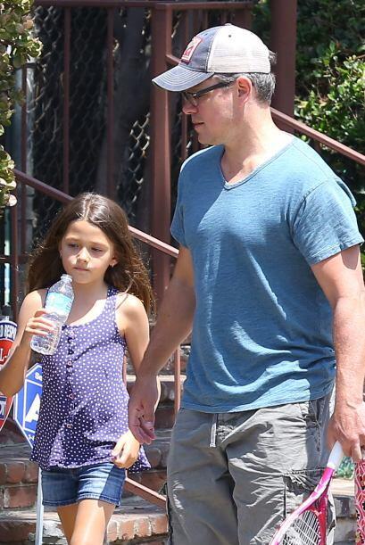 Matt conoció a Luciana en Miami hace 10 años, mientras fil...