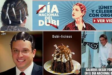 Entre fotos graciosas y memes, Puerto Rico disfrutó celebrando este part...