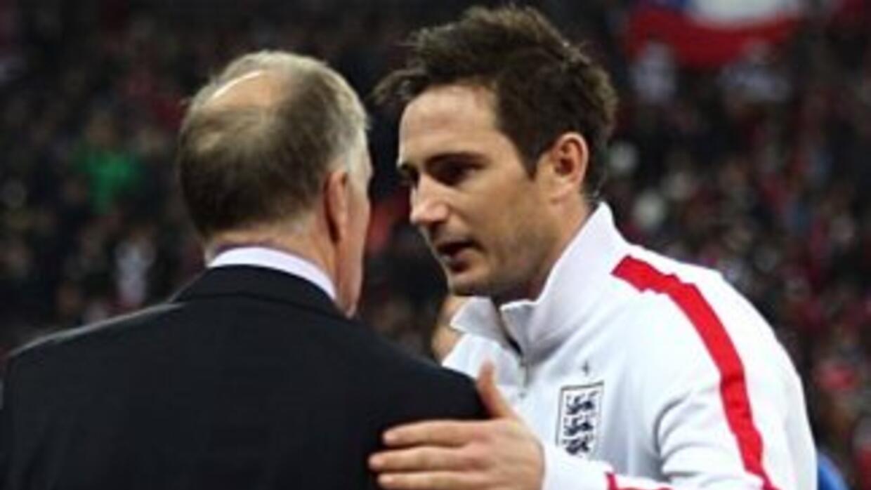 Lampard es uno de los veteranos que comandarán a esta selección de los '...