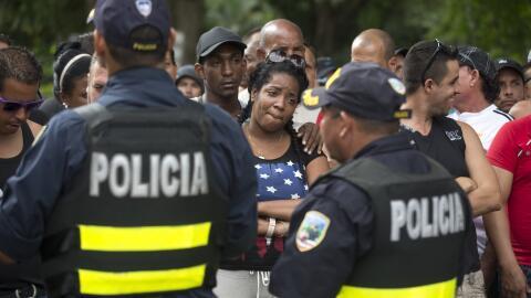 Cubanos migrantes por Centroamérica