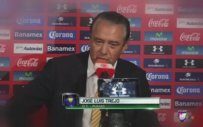 """José Luis Trejo: """"Es más difícil jugar contra diez"""""""