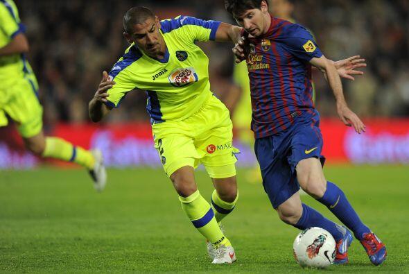 'La Pulga' le ganó en velocidad al defensor argentino 'cata' D&ia...