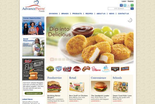 1. AdvancePierre Foods  Sector de la industria: Alimentos.  Ejemplos de...