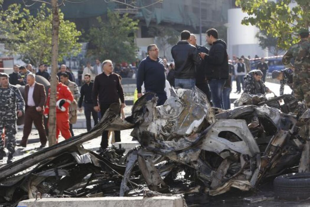 Rafik Hariri fue asesinado en un atentado con camión bomba en Beirut en...