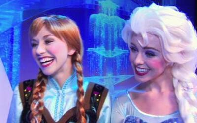 Antonella en una aventura con las princesas de 'Frozen'