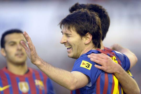 2-0 en favor del Barcelona, que no fue la máquina de goles que mu...