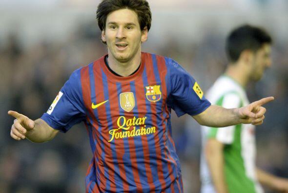 Messi cumplió sin mayor problema la tarea de volver a marcar.