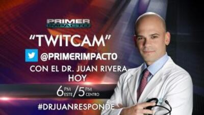 """hoy tendremos una """" twitcam"""" con el Dr. Juan Rivera después de Primer I..."""