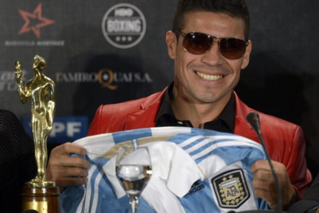 El púgil nacido hace 37 años en la ciudad bonaerense de Quilmes reconqui...