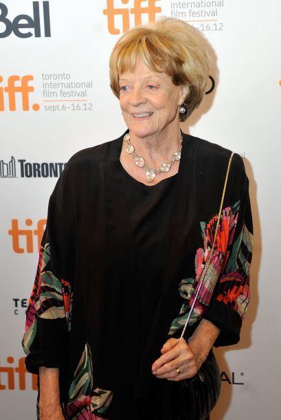 De la misma saga viene la profesora Minerva McGonagall, interpretada por...