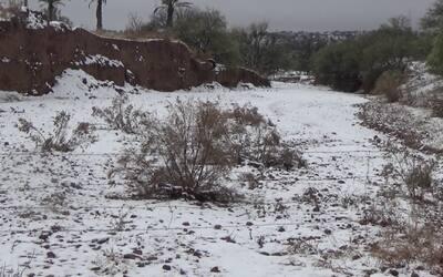 Tormenta invernal en Nogales