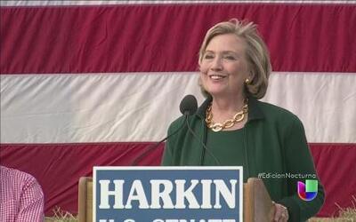 ¿Hillary Clinton se destapa rumbo al 2016?