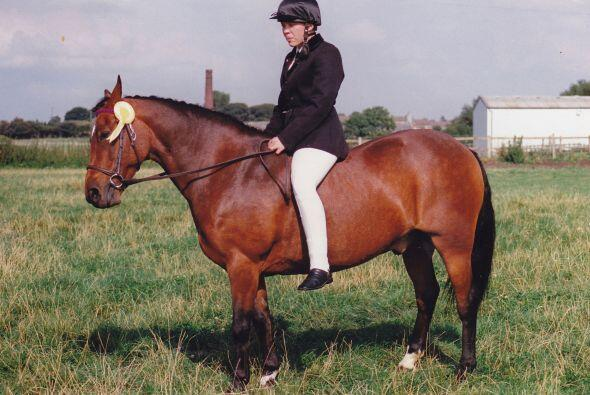 Desde que era adolescente a Faith Riley le encantaban los caballos, real...