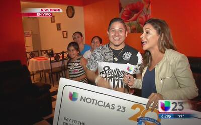 Así sorprendimos al segundo ganador de '23 mil gracias'