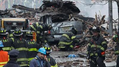 Una fuerte explosión sacudió a Harlem, el corazón de Nueva York