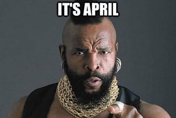 ¡Es April Fools!