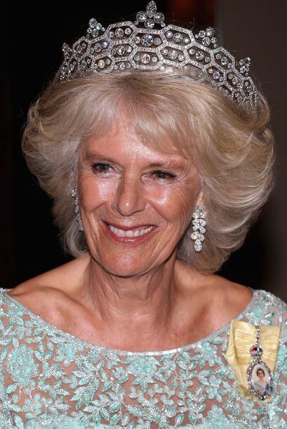 Camilla, la duquesa de Cornwall, ha lucido una de las más grandes...