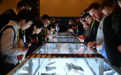 Miles asistieron a mayor feria de electrónica de consumo de Las V...