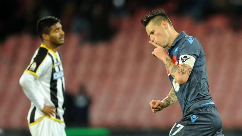 El equipo de Higuaín y Callejón dejó fuera al Udinese en tanda de penales.